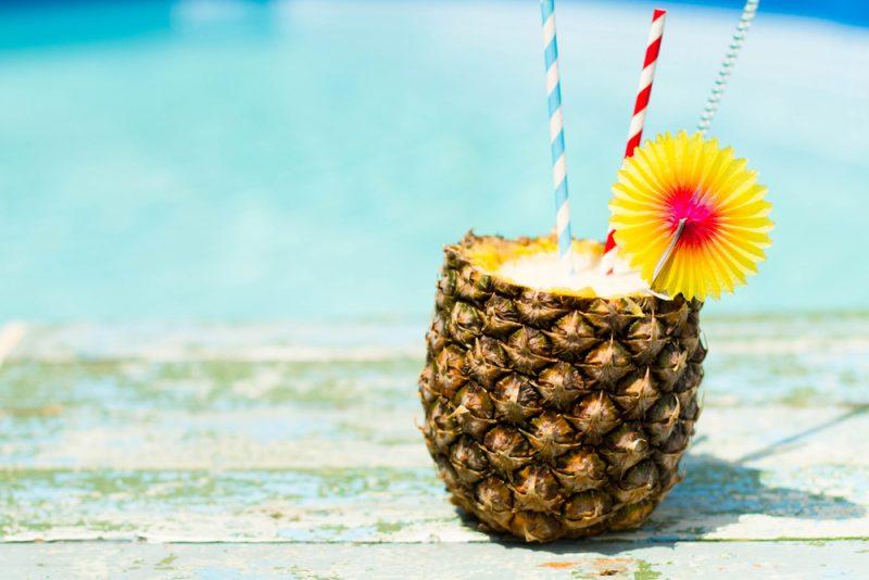 Экзотические соки: манго, папайя, личи